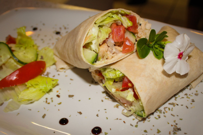 Sweet-Chilli-Chicken-Wrap